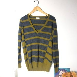 Wallace Wool Pullover Striped Small